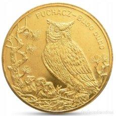 Monedas antiguas de Europa: POLONIA 2 ZLOTYH 2005 BUHO UNC. Lote 195153975