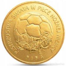 Monedas antiguas de Europa: POLONIA 2 ZLOTYH 2006 FUTBOL ALEMANIA UNC. Lote 195187581