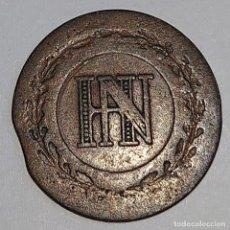 Monedas antiguas de Europa: WESTFALIA/OCUPACIÓN FRANCESA. 1 CENTIME 1809.. Lote 195188393