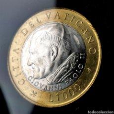 Monedas antiguas de Europa: VATICANO 1000 LIRE 2001. Lote 195193217