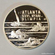 Monedas antiguas de Europa: HUNGRIA - 1000 FORINT 1994 PLATA - JUEGOS OLÍMPICOS ATLANTA 1996 - NATACIÓN - LOT. 2342. Lote 195205575