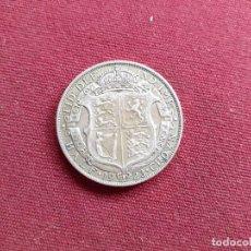 Monedas antiguas de Europa: REINO UNIDO. HALF CROWN DE PLATA DE 1923. Lote 195229906
