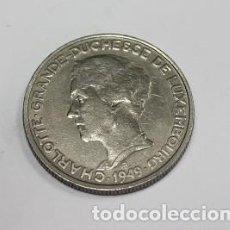 Monedas antiguas de Europa: 90,, MONEDA DE LUXEMBURGO 5 FRANCOS NIQUEL AÑO 1949, CONSERVACION, MBC+. Lote 195239252