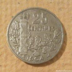 Monedas antiguas de Europa: FRANCIA. 25 CÉNTIMOS 1904. TERCERA REPÚBLICA FRANCESA. Lote 195240722