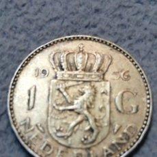 Monedas antiguas de Europa: HOLANDA PLATA 1956 1G. Lote 195248643