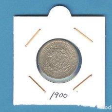 Monedas antiguas de Europa: PORTUGAL. 100 REIS 1900. Lote 195253570