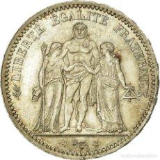 Monedas antiguas de Europa: MONEDA, FRANCIA, HERCULE, 5 FRANCS, 1873, PARIS, PCGS, MS66, PLATA, KM:820.1. Lote 195288505