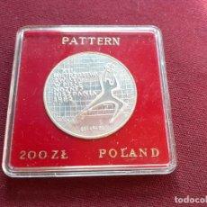 Monedas antiguas de Europa: POLONIA. 200 ZLOTYCH DE PLATA DE 1982. MUNDIAL DE FÚTBOL ESPAÑA 82. Lote 195320615