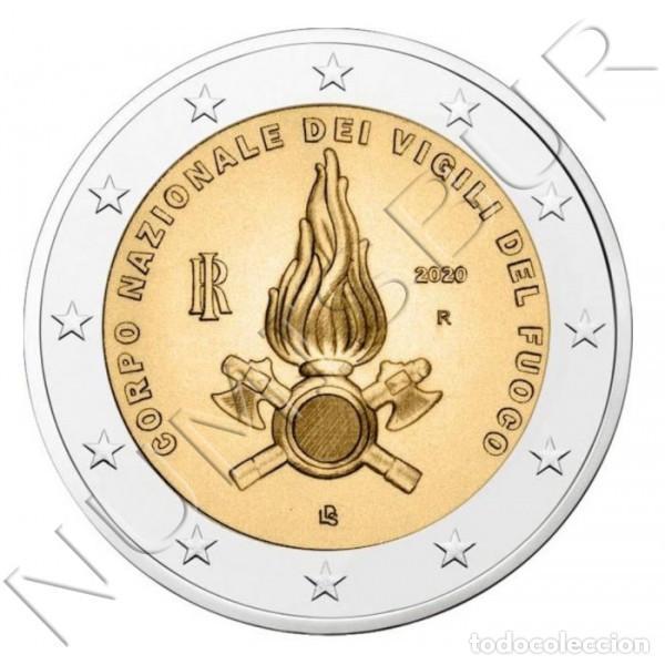 2€ ITALIA 2020 - CUERPO NACIONAL DE BOMBEROS (Numismática - Extranjeras - Europa)