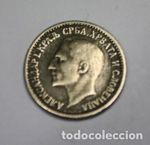 22,, MONEDA DE YUGUSLAVIA, ALEXANDER I, 50 PARA NIQUEL, AÑO 1925, CONSERVACION MBC+ (Numismática - Extranjeras - Europa)