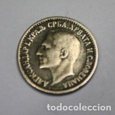 Monedas antiguas de Europa: 22,, MONEDA DE YUGUSLAVIA, ALEXANDER I, 50 PARA NIQUEL, AÑO 1925, CONSERVACION MBC+. Lote 195328323