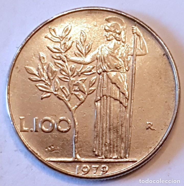 ITALIA MONEDA 100 LIRAS 1979 (Numismática - Extranjeras - Europa)
