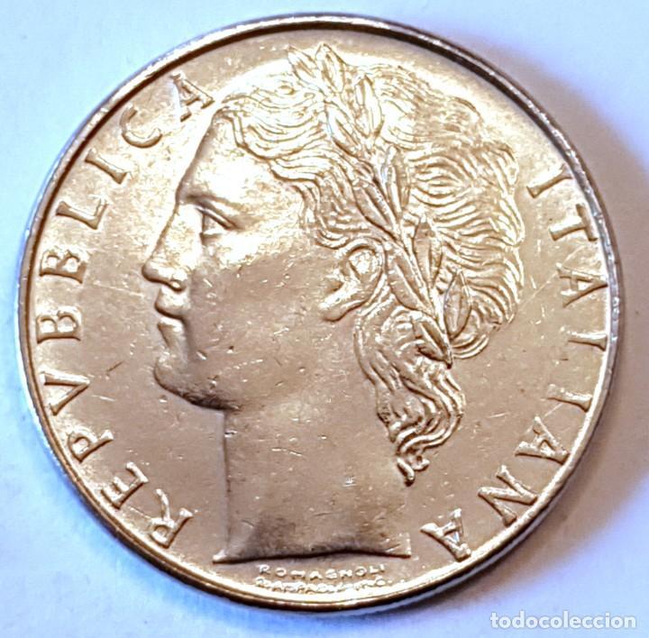 Monedas antiguas de Europa: ITALIA MONEDA 100 LIRAS 1988 - Foto 2 - 195340403