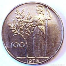 Monedas antiguas de Europa: ITALIA MONEDA 100 LIRAS 1976. Lote 195340448