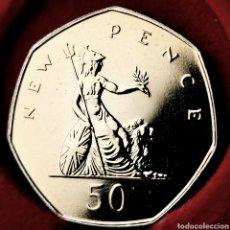 Monedas antiguas de Europa: PROOF, 88000EJ. GRAN BRETAÑA 50 PENCE 1978. Lote 195359293