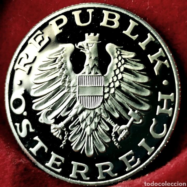 Monedas antiguas de Europa: PROOF, 39000EJ. Austria 10 schilling 1988 - Foto 2 - 195359345