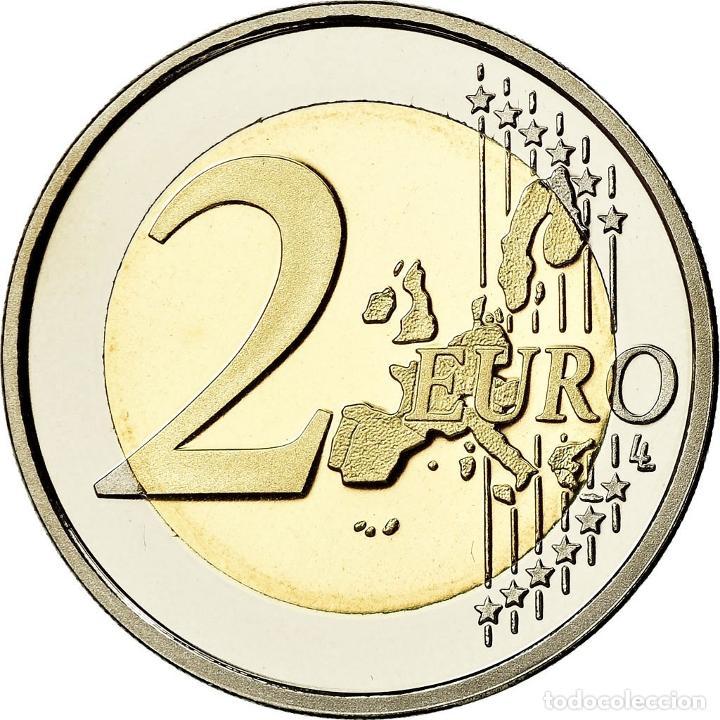 Monedas antiguas de Europa: Países Bajos, 2 Euro, 2000, BE, FDC, Bimetálico, KM:241 - Foto 2 - 195365793