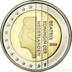 Monedas antiguas de Europa: PAÍSES BAJOS, 2 EURO, 2000, BE, FDC, BIMETÁLICO, KM:241. Lote 195365793