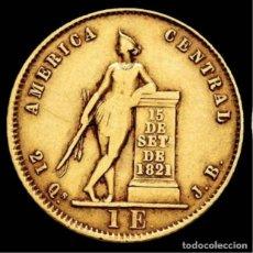 Monedas antiguas de Europa: COSTA RICA - 1 ESCUDO. 1851. SAN JOSÉ. JB. (KM-97). TIRADA DE 4,388. Lote 195367478