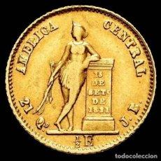 Monedas antiguas de Europa: COSTA RICA. 1/2 ESCUDO. 1850. JB. (KM-97). TIRADA DE 3,388. ESCASA. Lote 195367821