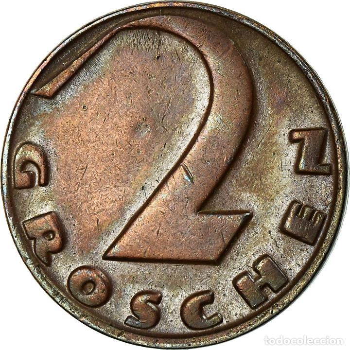 Monedas antiguas de Europa: Moneda, Austria, 2 Groschen, 1931, MBC, Bronce, KM:2837 - Foto 2 - 195362676
