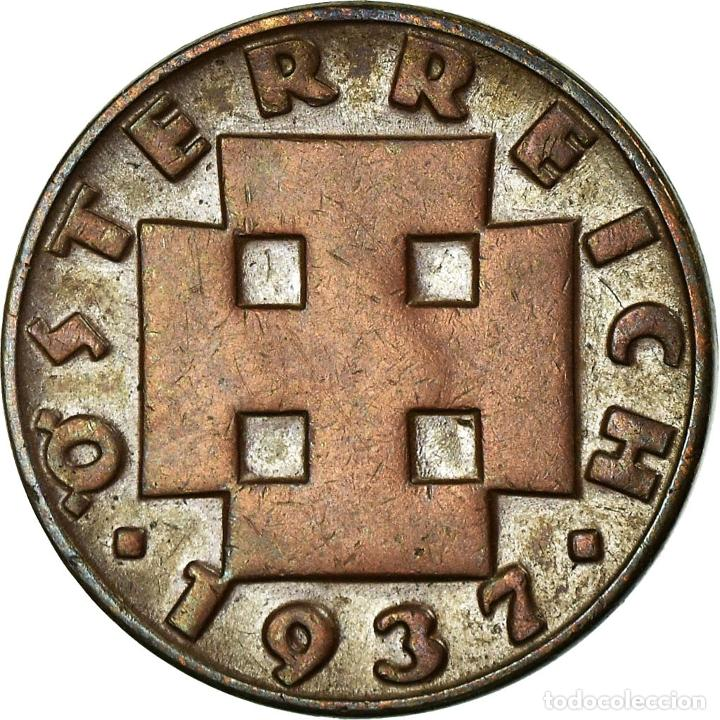 MONEDA, AUSTRIA, 2 GROSCHEN, 1931, MBC, BRONCE, KM:2837 (Numismática - Extranjeras - Europa)