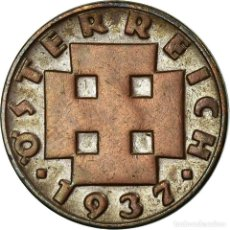 Monedas antiguas de Europa: MONEDA, AUSTRIA, 2 GROSCHEN, 1931, MBC, BRONCE, KM:2837. Lote 195362676