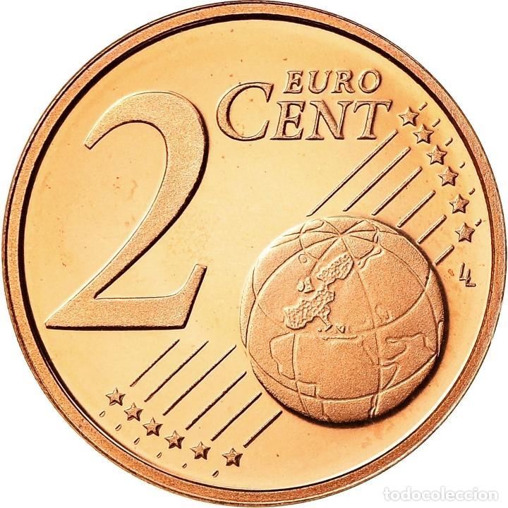 Monedas antiguas de Europa: Países Bajos, 2 Euro Cent, 2000, BE, FDC, Cobre chapado en acero, KM:235 - Foto 2 - 195386806
