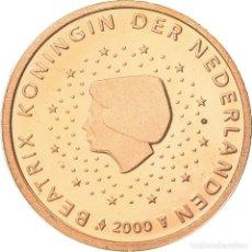 Monedas antiguas de Europa: PAÍSES BAJOS, 2 EURO CENT, 2000, BE, FDC, COBRE CHAPADO EN ACERO, KM:235. Lote 195386806