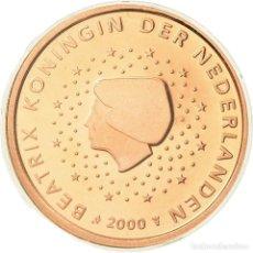 Monedas antiguas de Europa: PAÍSES BAJOS, 5 EURO CENT, 2000, BE, FDC, COBRE CHAPADO EN ACERO, KM:236. Lote 195390403