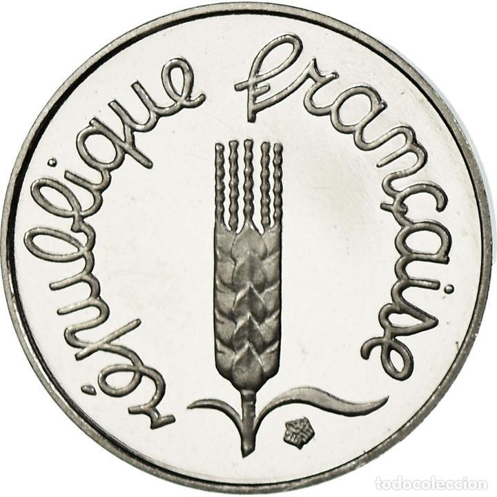 MONEDA, FRANCIA, ÉPI, CENTIME, 1996, PARIS, BE, FDC, ACERO INOXIDABLE, KM:928 (Numismática - Extranjeras - Europa)