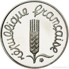 Monedas antiguas de Europa: MONEDA, FRANCIA, ÉPI, CENTIME, 1996, PARIS, BE, FDC, ACERO INOXIDABLE, KM:928. Lote 195391271
