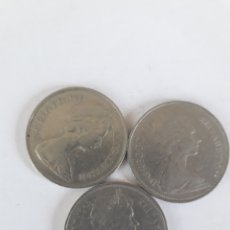 Monedas antiguas de Europa: 10 PENIQUES PENS 1968 1969 Y 1970. Lote 195397363