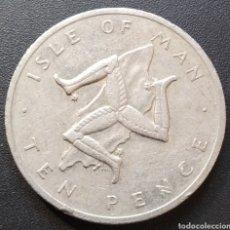 Monedas antiguas de Europa: ISLA DE MAN 10 PENCE 1976 - ENVIO GRATIS A PARTIR DE 35€ - VENDEDOR TONETI_83. Lote 195404226