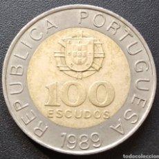 Monedas antiguas de Europa: PORTUGAL 100 ESCUDOS 1989 - ENVIO GRATIS A PARTIR DE 35€ - VENDEDOR TONETI_83. Lote 195404572