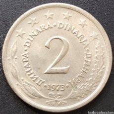 Monedas antiguas de Europa: YUGOSLAVIA 2 DINARES 1973 - ENVIO GRATIS A PARTIR DE 35€ - VENDEDOR TONETI_83. Lote 195405370