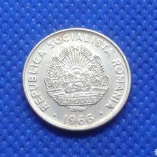 Monedas antiguas de Europa: RUMANIA 15 BANI 1966. Lote 195427152