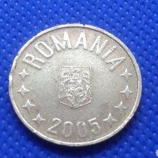 Monedas antiguas de Europa: RUMANIA 50 BANI 2005. Lote 195429280