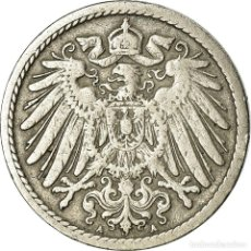 Monedas antiguas de Europa: MONEDA, ALEMANIA - IMPERIO, WILHELM II, 5 PFENNIG, 1893, BERLIN, MBC, COBRE -. Lote 195430181