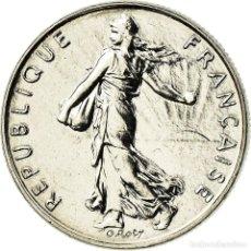 Monedas antiguas de Europa: MONEDA, FRANCIA, SEMEUSE, 1/2 FRANC, 1999, PARIS, FDC, NÍQUEL, KM:931.1. Lote 195430663