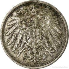 Monedas antiguas de Europa: MONEDA, ALEMANIA - IMPERIO, WILHELM II, 10 PFENNIG, 1914, BERLIN, BC+, COBRE -. Lote 195432903