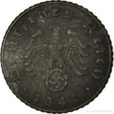 Monedas antiguas de Europa: MONEDA, ALEMANIA - TERCER REICH, 5 REICHSPFENNIG, 1941, BERLIN, BC+, CINC. Lote 195432905