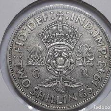 Monedas antiguas de Europa: 2 CHELINES PLATA 1943 LA DE LA FOTO . Lote 195435456