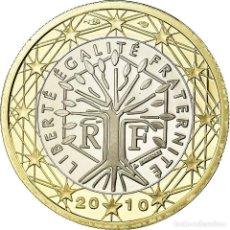 Monedas antiguas de Europa: FRANCIA, EURO, 2010, BE, FDC, BIMETÁLICO, KM:1413. Lote 195435357