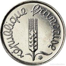 Monedas antiguas de Europa: MONEDA, FRANCIA, ÉPI, CENTIME, 2001, PARIS, SC+, ACERO INOXIDABLE, KM:928. Lote 195435703