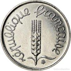 Monedas antiguas de Europa: MONEDA, FRANCIA, ÉPI, CENTIME, 1998, PARIS, SC+, ACERO INOXIDABLE, KM:928. Lote 195435948