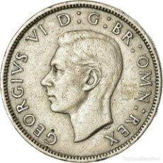 Monedas antiguas de Europa: MONEDA, GRAN BRETAÑA, GEORGE VI, FLORIN, TWO SHILLINGS, 1951, MBC, COBRE -. Lote 195438402