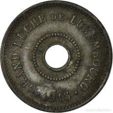 Monedas antiguas de Europa: MONEDA, LUXEMBURGO, MARIE ADELAIDE, 10 CENTIMES, 1915, BC+, CINC, KM:28. Lote 195439037