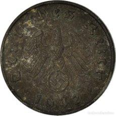Monedas antiguas de Europa: MONEDA, ALEMANIA - TERCER REICH, 10 REICHSPFENNIG, 1942, BERLIN, BC+, CINC. Lote 195439208