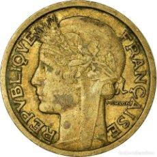 Monedas antiguas de Europa: MONEDA, FRANCIA, MORLON, 2 FRANCS, 1935, PARIS, BC+, ALUMINIO - BRONCE, KM:886. Lote 195439323